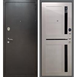 Входная дверь Армада Титан СБ-18 (Антик Серебро / Лиственница беж)