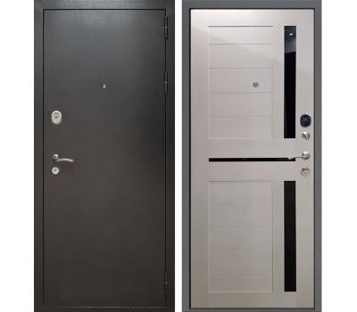 Входная металлическая дверь Армада Титан СБ-18 (Антик Серебро / Лиственница беж)