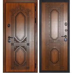 Входная металлическая дверь Сударь Париж (Дуб золотой / Дуб золотой)